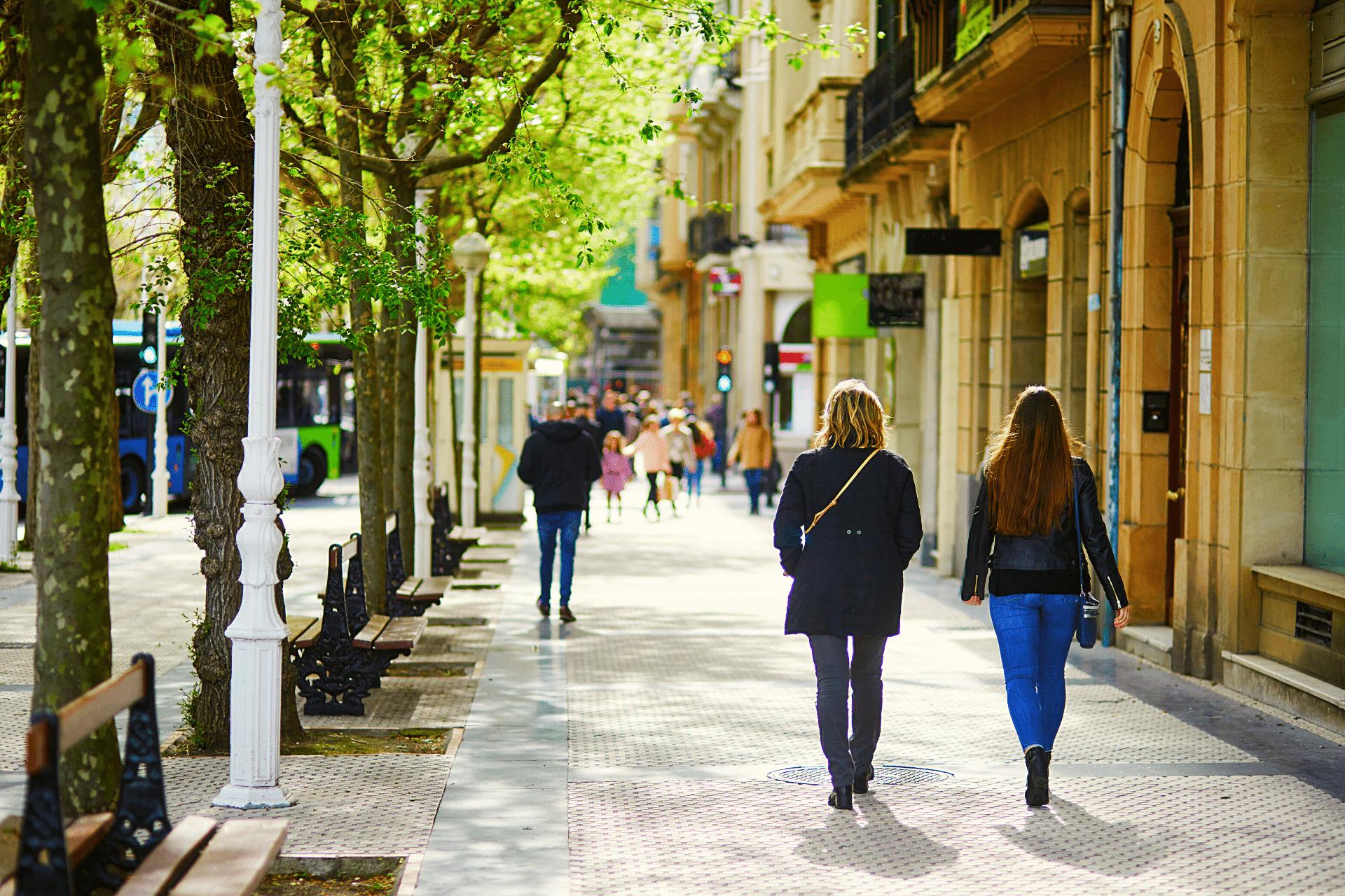people-walking-street-spain-Spanish-language